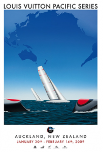 Luois Vuitton Pacific Series logo