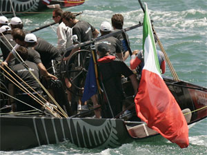 L'equipaggio di Damiani Italia Challenge