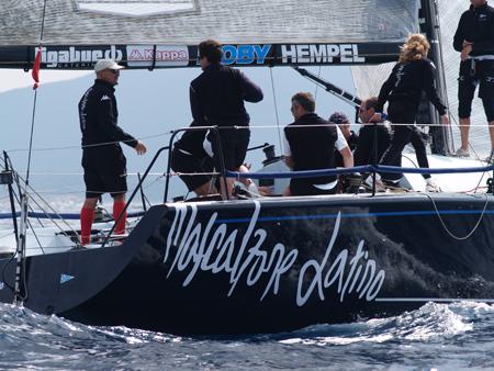L'arrivo della prima regata - Photo Credit. Nicola Davanzo/Mascalzone Latino