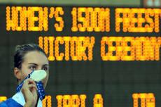 Alessia Filippi con la meritata medaglia