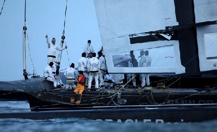 BMW Oracle Racing vince la 33ma America's Cup
